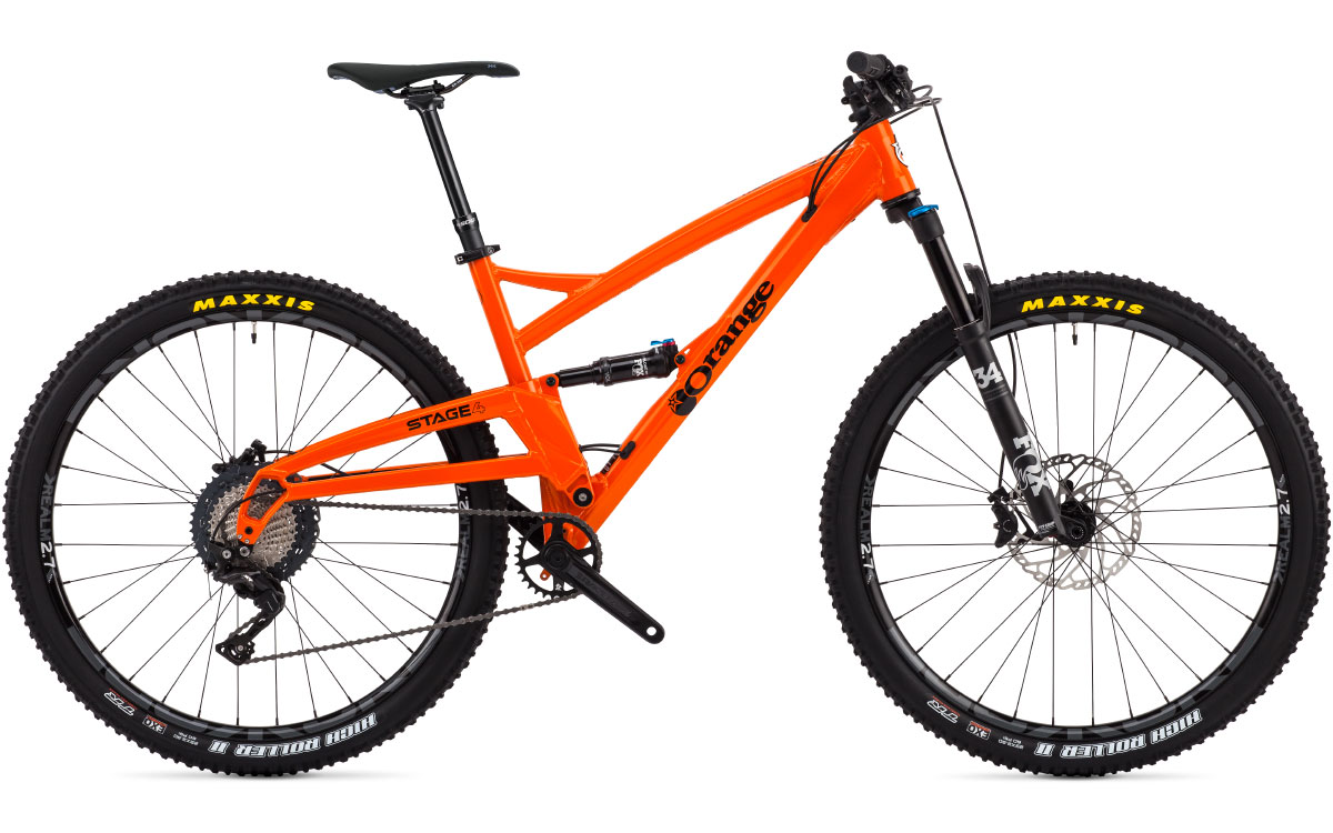 DB-d. Orange STAGE 4 (Large) 29er